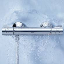 Robinet de douche thermostatique Grohe Grohtherm 800
