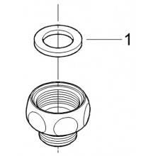 Pièce de raccordement de flexible Grohe Gland