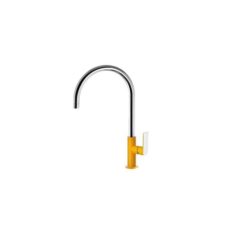 robinet d 39 vier incurv ambre tres loft colors. Black Bedroom Furniture Sets. Home Design Ideas