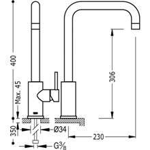 robinet d'évier ECO MAX-TRES