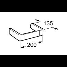 Porte-serviettes de bidet 20 cm Select Roca