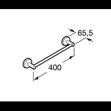 Porte-serviettes de lavabo 40,2 cm Twin Roca