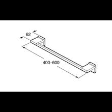 Porte-serviettes 60 cm Rubik Roca