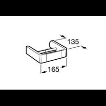 Dérouleur papier WC sans couvercle Select Roca