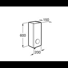 Armoire de toilette 20 cm ouverture à droite Luna Roca