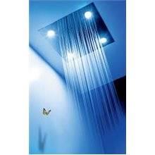 Kit de baignoire thermostatique chromothérapie et cascade 3 voies TRES R