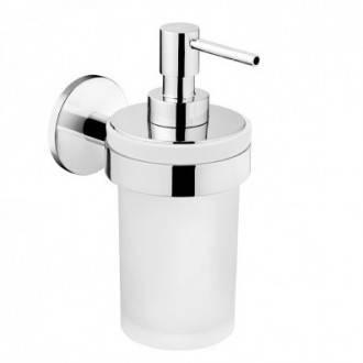 Distributeur de savon en verre DUO ROUND Bath+