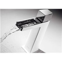 Robinet de lavabo Cascade Blanc CUB SLIM TRES