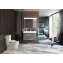 WC réservoir bas Inspira Round 64,5cm Roca