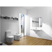 WC Compact réservoir bas Meridian Roca
