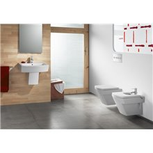 Lavabo demi-socle Hall 65x49,5cm Roca