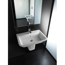 Lavabo demi-socle The Gap 55x47cm Roca