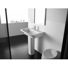 Lavabo sur socle The Gap 55x47cm Roca