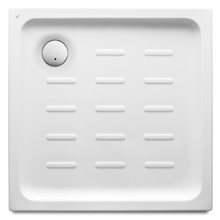 Receveur de douche carré acrylique 90x90 cm Easy Roca
