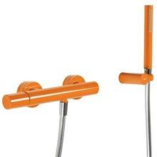 Kit de douche orange TRES STUDY