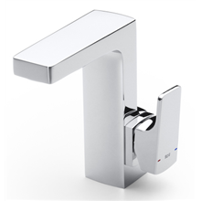 Robinet de lavabo avec poignée latérale intégrée L90 Roca