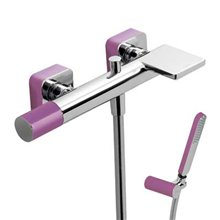 Kit de baignoire-douche Violet TRES LOFT