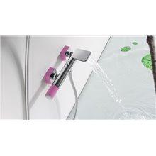 Kit de baignoire-douche rose TRES LOFT