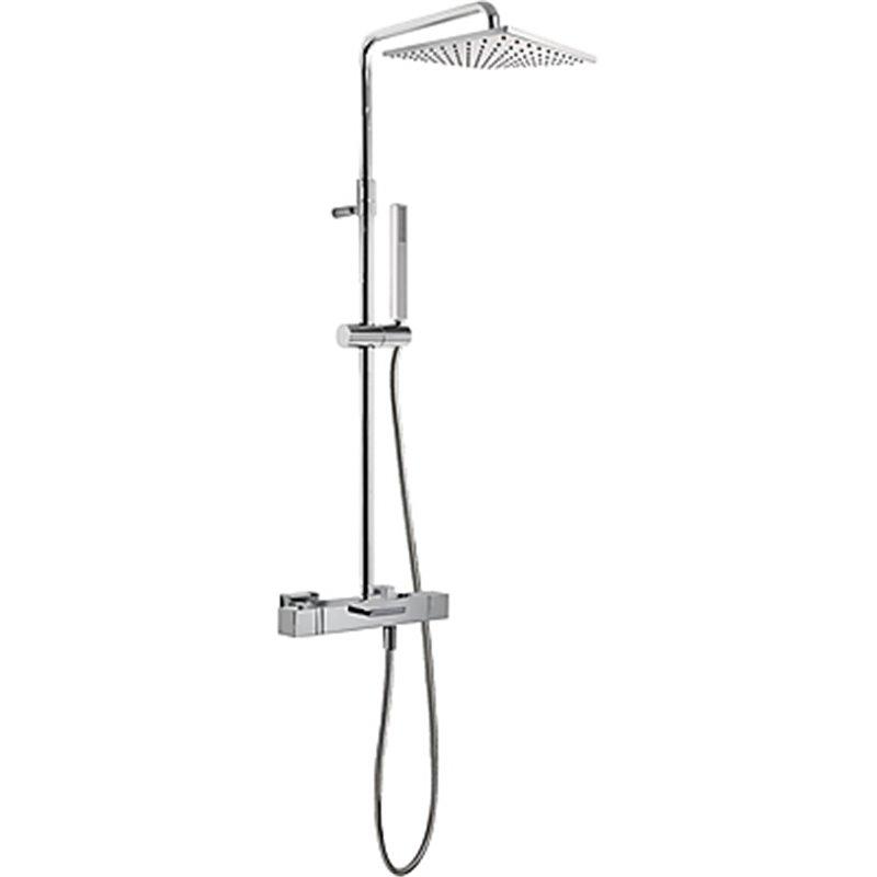 colonne de baignoire douche thermostatique cuadro tres 007. Black Bedroom Furniture Sets. Home Design Ideas