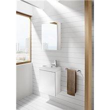 Armoire de toilette blanche Mini Roca