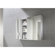 Armoire-miroir 40cm blanche Luna Roca