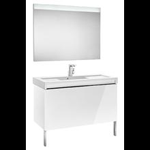 Pack meuble 110 cm blanc Stratum-N Roca