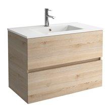 Ensemble pour salle de bains bois naturel 800 Fussion Line Salgar