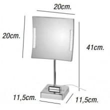 Miroir grossissant QUADRO LED 3