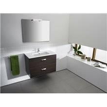 2 tiroirs wengé meubles 80cm Basic Roca Victoria