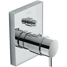 Robinet thermostatique à encastrer douche-baignoire Compact Tres