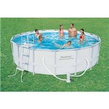 Piscine en kit ronde 488x122 cm POWER STEEL...