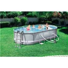 Piscine en kit ovale 488x305x107 cm Power Steel...