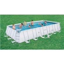 Piscine en kit rectangulaire 732x366x132 cm...