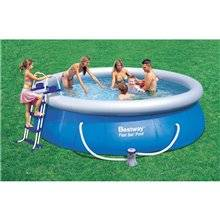 Piscine en kit ronde 366x91 cm Fast Set Bestway
