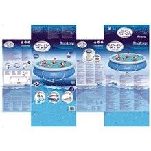 Piscine en kit ronde 427x91 cm Fast Set Bestway
