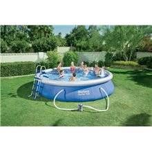 Piscine en kit ronde 457x91 cm Fast Set Bestway