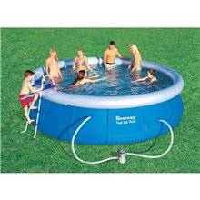 Piscine en kit ronde 457x107 cm Fast Set Bestway
