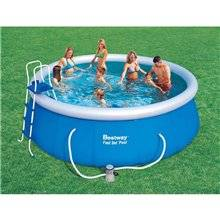 Piscine en kit ronde 457x122 cm Fast Set Bestway