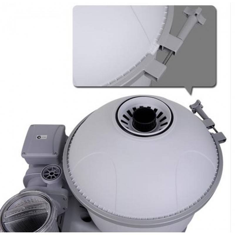 pompe de filtration sable 5678 l h bestway 58404 habitium. Black Bedroom Furniture Sets. Home Design Ideas