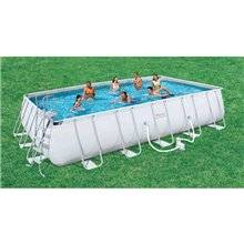 Piscine en kit rectangulaire 671x366x132 cm...