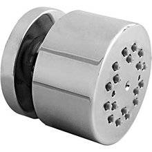 Jet de douche encastré latéral avec rotule anti-calcaire en ABS 2 positions TRES