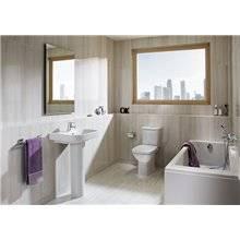 WC réservoir bas horizontal Debba Roca