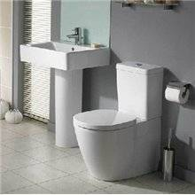 WC compact CONNECT SPACE Cubic Ideal Standard