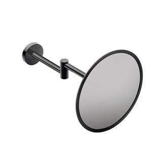 Miroir grossissant mural noir COSMIC