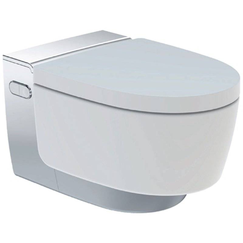 WC suspendu AquaClean Mera Classic chromé Geberit