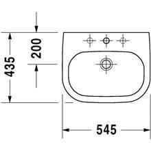 Vasque encastrée D-Code Duravit