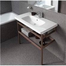 Plan vasque pour meuble 80 avec trop-plein DuraStyle Duravit