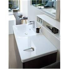 Lavabo asymétrique à droite pour meuble 85 P3 Comforts Duravit