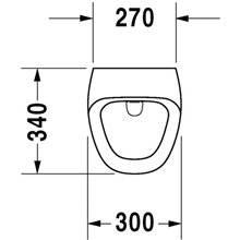 Urinoir électrique courant Durastyle 30 DURAVIT