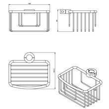 Étagère avec grille architect COSMIC